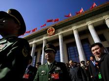 Kenaikan Anggaran Pertahanan China Salip Pertumbuhan PDB