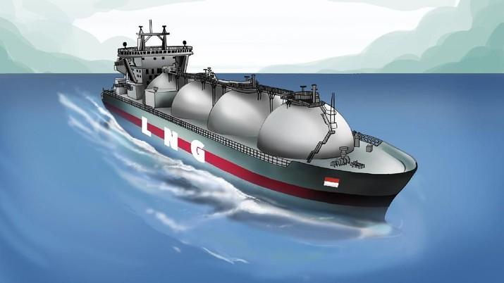 INFOGRAFIS, Indonesia Masuk 5 Negara Terbesar Eksportir Gas