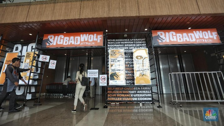 Mengintip Ramainya Para Pecinta Buku di Big Bad Wolf 2019