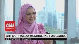 Siti Nurhaliza Kembali ke Panggung