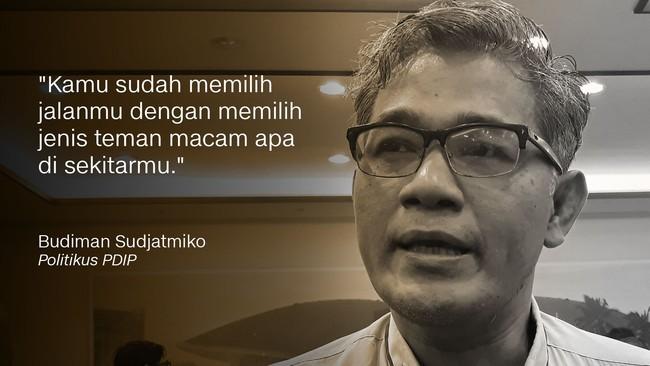 Politikus PDIP Budiman Sudjatmiko