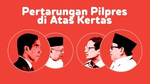 INFOGRAFIS: Elektabilitas Jokowi Vs Prabowo di Atas Kertas