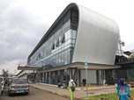 Mengintip Wajah Baru Stasiun KA Cisauk yang Futuristik