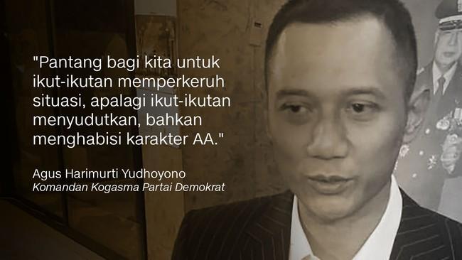Komandan Kogasma Agus Harimurti Yudhoyono
