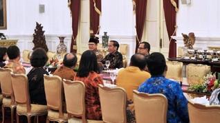 Usai Bertemu Jokowi, Ketua PGI Imbau Umat Kristen Tak Golput