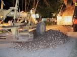 Viral Dipakai Mandi Lumpur, Jalan di Sumsel Diperbaiki