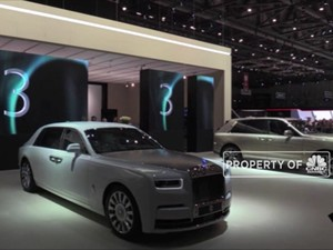 Mewah! Ini Mobil Rolls-royce Berbalut Emas 24 Karat