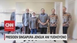 Presiden Singapura Jenguk Ani Yudhoyono