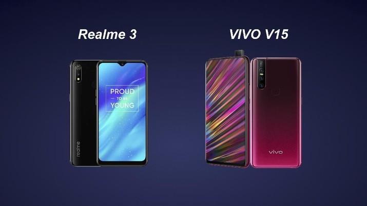 Realme 3 Vs Vivo V15 Ponsel Mana Yang Paling Canggih