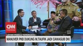 Manuver PKB Dukung M.Taufik Jadi Cawagub DKI