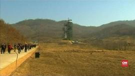 VIDEO: KTT Gagal, Korut Kembali Bangun Situs Uji Coba Roket