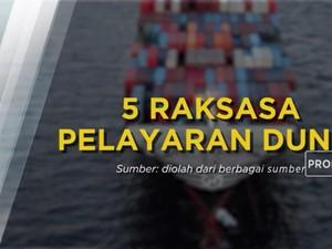 5 Raksasa Logistik Penguasa Samudra
