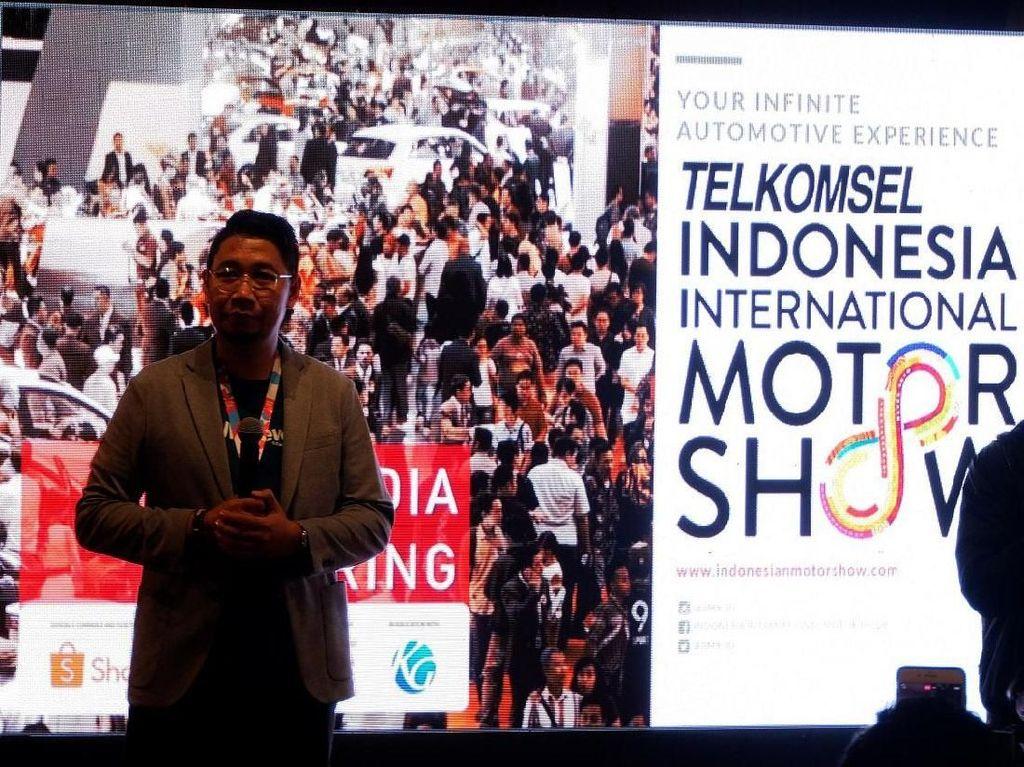 Telkomsel Indonesia International Motor Show (IIMS) 2019 akan berlangsung mulai tanggal 25 April - 5 Mei 2019. Hadir sebagai titling sponsor IIMS 2019. Foto: dok. Telkomsel