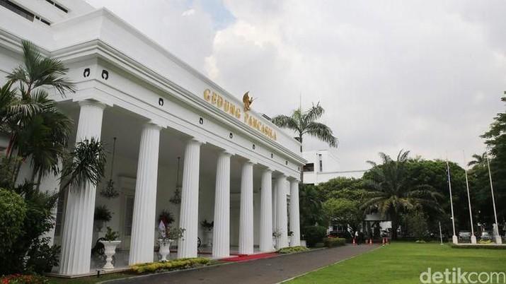 Gedung Kemlu Pancasila (Detik/Ari Saputra)