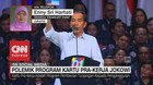 Polemik Program Kartu Pra-Kerja Jokowi