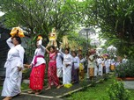 Seperti di Bali, Begini Suasana Jelang Nyepi di Depok