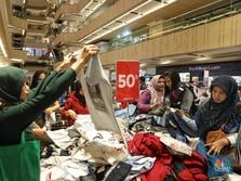 Minimalis, Penjualan Ritel Agustus Cuma Naik 1,1%