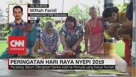 Puncak Peringatan Hari Raya Nyepi 2019 di Bali
