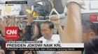 Pulang ke Bogor, Presiden Jokowi Naik KRL