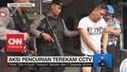 Terekam CCTV, Spesialis Pencurian di Rumah Sakit Tertangkap