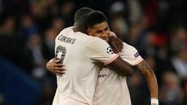 Lukaku Sengaja Berikan Penalti Man United ke Rashford
