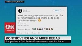 Andi Arief Pulang, Iwa K Protes
