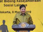 Airlangga: Pabrik Semen Asing Cuma 5%, Tak Ganggu BUMN