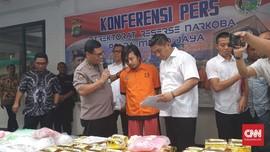 Polisi Ungkap Jaringan Pengedar Narkoba di Jakarta