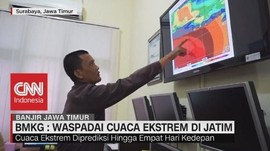 BMKG Waspadai Cuaca ekstrem di Jatim