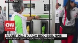 Maret 2019, Harga Biodiesel Naik