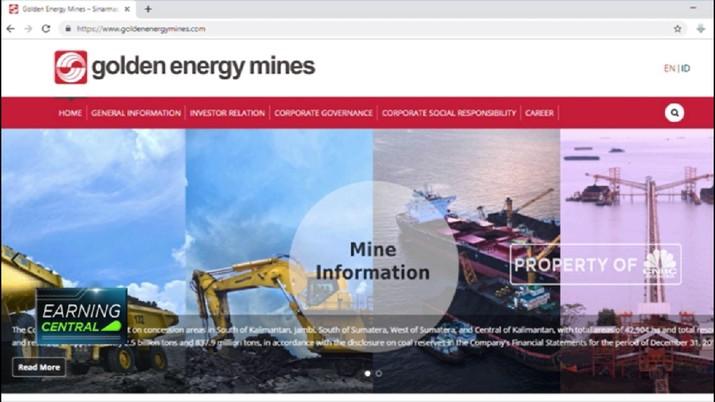 PT Golden Energy Mines Tbk (GEMS) membukukan laba bersih sepanjang tahun lalu sebesar US$ 65,41 juta.