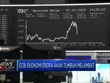 ECB: Ekonomi Eropa Akan Tumbuh Melambat