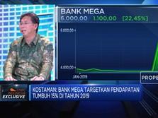 Begini Strategi Bank Mega Dongkrak Pertumbuhan Pendapatan