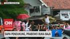 Sapa Pendukung, Prabowo Buka Baju