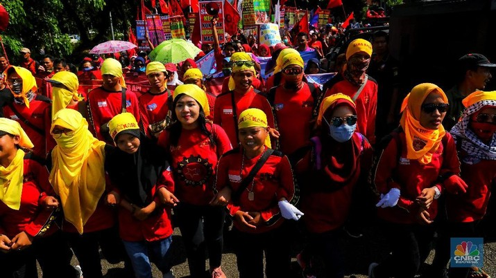 Rayakan Hari Perempuan Sedunia via Aksi di Kawasan Ring 1