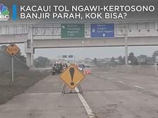 Tol Ngawi-Kertosono Banjir, Kok Bisa?