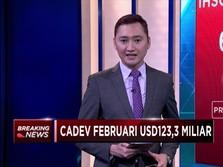 Cadangan Devisa Februari Bertambah US$ 3,2 Miliar