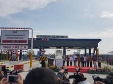 Sah! Jokowi Resmikan Tol Bakauheni-Terbanggi Besar 140,9 KM