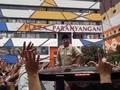 Prabowo Dielukan Emak-emak di Masjid Raya Bandung