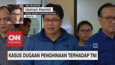 Kasus Dugaan Penghinaan terhadap TNI