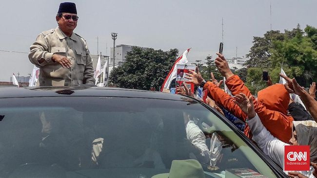 Video Prabowo Marah-marah di Atas Mobil, BPN Beri Klarifikasi
