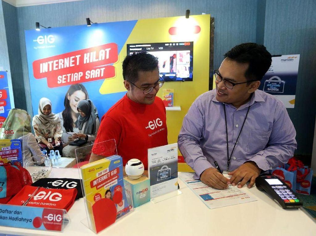 GIG merupakan layanan fiber-to-the-home (FTTH) yang menyediakan akses internet menggunakan media fiber optik dengan kecepatan tinggi dan stabil. Istimewa/Indosat Ooredoo.