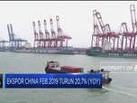 Ekspor China Drop 20,7% di Februari