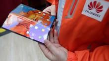Mate X Ditunda, Huawei Patenkan Model Ponsel Lipat Baru