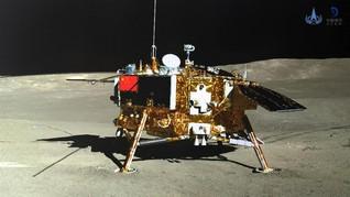 Chang'e 4 Berhasil Tanam Kapas di Bulan