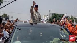 Ditegur Prabowo, Pengawal Minta Maaf ke Warga Cianjur