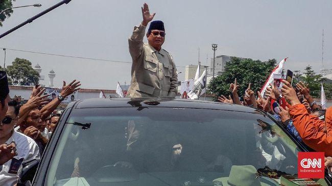 Prabowo Apresiasi KPU: Kita Hasilkan Demokrasi yang Sejuk
