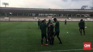 Timnas Indonesia Menikmati Suasana Berlatih di Australia