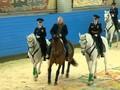VIDEO: Putin Berkuda Dengan Polwan Peringati Hari Perempuan
