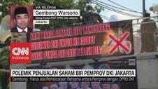 Polemik Penjualan Saham Bir Pemprov DKI Jakarta